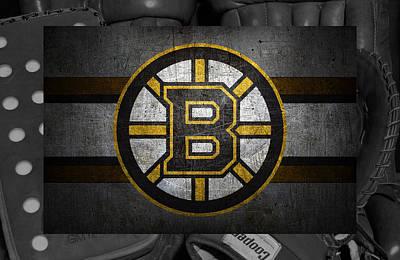 Hockey Photograph - Boston Bruins by Joe Hamilton
