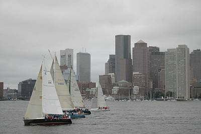Boston Harbor Art Print