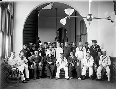 Photograph - Brooklyn Hospital, C1900 by Granger
