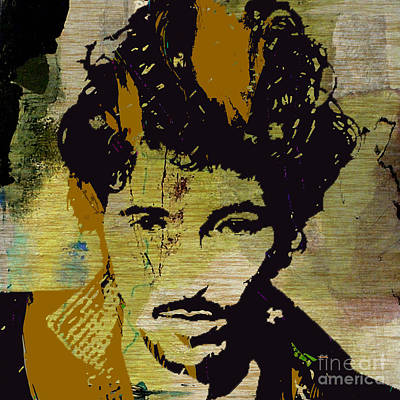 Bruce Springsteen Art Print by Marvin Blaine