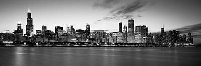 Buildings At The Waterfront, Lake Print by Panoramic Images