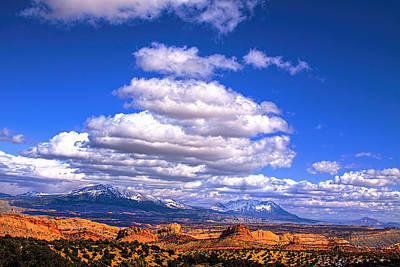Photograph - Capitol Reef National Park Burr Trail by Mark Smith
