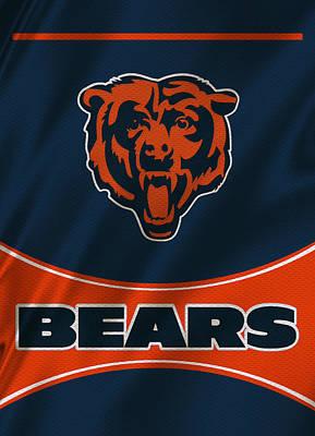 Chicago Bears Uniform Art Print by Joe Hamilton
