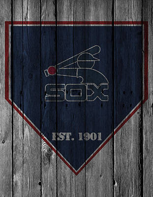 Chicago White Sox Photograph - Chicago White Sox by Joe Hamilton