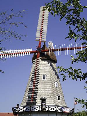 A Good Year Photograph - Danish Windmill by Tim Mulholland
