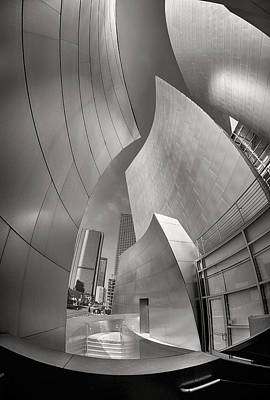 Robert Jensen Photograph - Disney Concert Hall by Robert Jensen