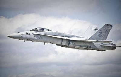 Photograph - F-18 Hornet by Eric Miller