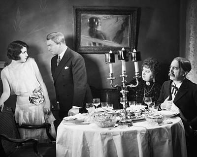 Film Still: Eating & Drinking Art Print