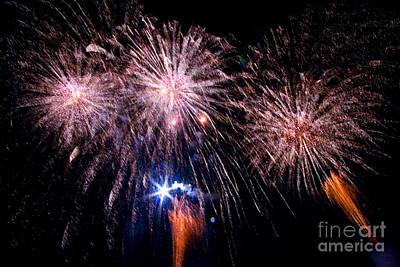 Fireworks Print by Tim Holt