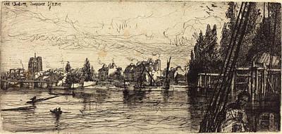 Francis Seymour Haden British, 1818 - 1910 Art Print by Quint Lox