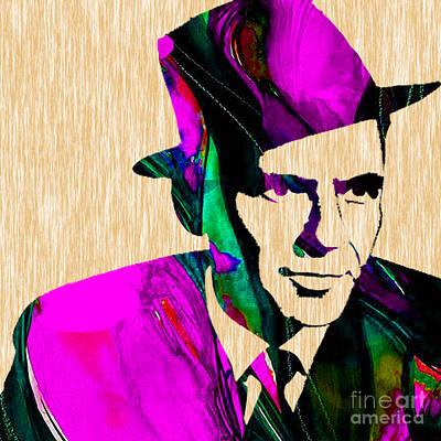 Frank Sinatra Mixed Media - Frank Sinatra by Marvin Blaine