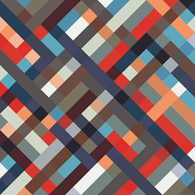 Digital Art - Geometric by Mike Taylor