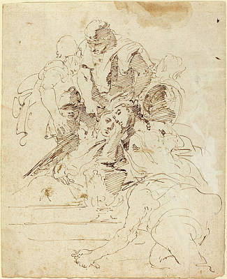 Giovanni Battista Tiepolo Italian, 1696 - 1770 Art Print