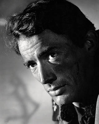 Peck Photograph - Gregory Peck by Silver Screen
