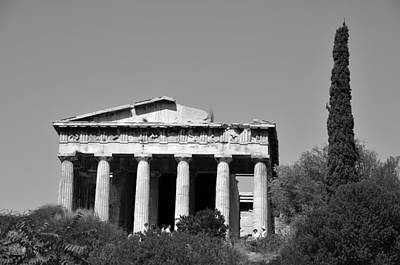 Temple Photograph - Hephaestus Temple by George Atsametakis