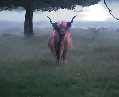 Digital Art - 11. Highland by Sigrid Van Dort