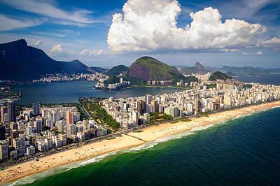 Brazil Photograph - Ipanema Beach by Celso Diniz