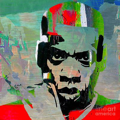 Celebrities Mixed Media - Jay Z by Marvin Blaine