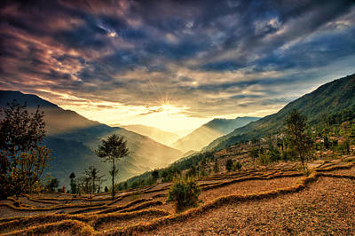 Photograph - Kalinchok Kathmandu Valley Nepal by Ulrich Schade