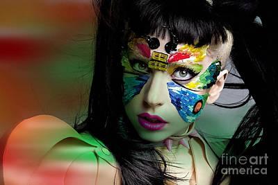 Gaga Mixed Media - Lady Gaga by Marvin Blaine