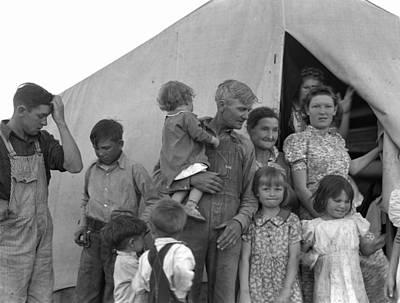Migrant Camp, 1939 Art Print by Granger