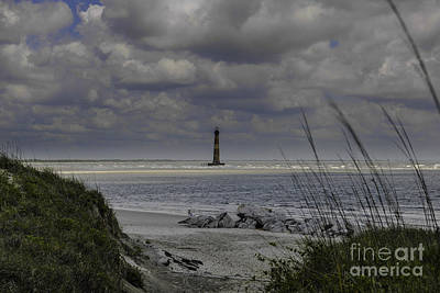 Photograph - Summer Bliss - Morris Island Lighthouse by Dale Powell