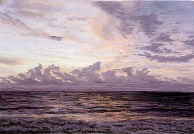 Pastel - Bali Sunset - II by Nancy Yang
