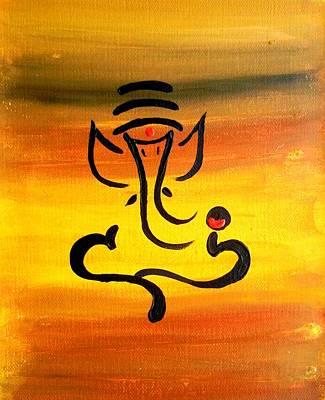 11 Nandana- Son Of Lord Shiva Art Print