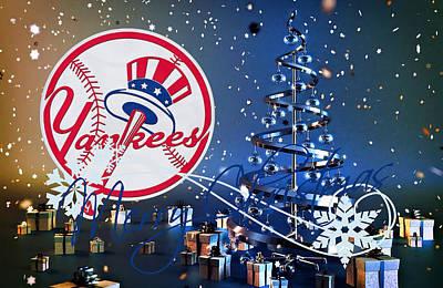 Yankee Photograph - New York Yankees by Joe Hamilton