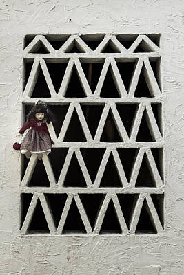 Grate Photograph - Old Doll by Joana Kruse