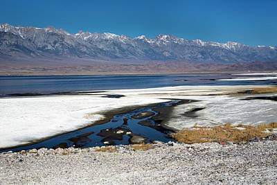 Owens Valley Photograph - Owens Lake by Jim West