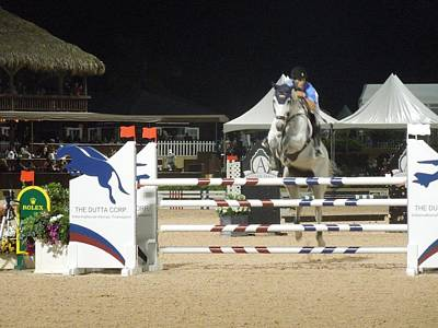 Photograph - Palm Beach International Equestrian Center by Ron Davidson