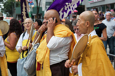 Buddhist Monks Photograph - People's Climate March by Jim West