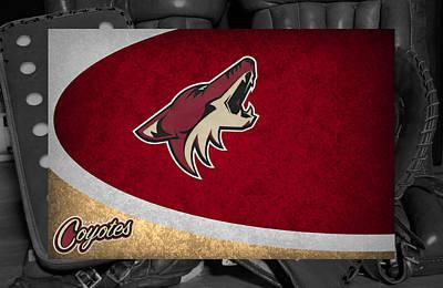 Skate Photograph - Phoenix Coyotes by Joe Hamilton
