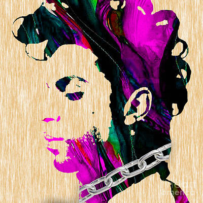 Mixed Media - Prince Collection by Marvin Blaine