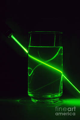 Refraction Art Print by GIPhotoStock