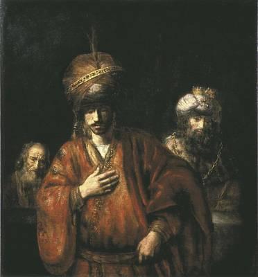 Rembrandt, Harmenszoon Van Rijn, Called Art Print