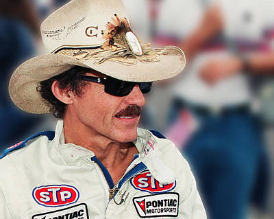 Richard Petty Art Print by Retro Images Archive