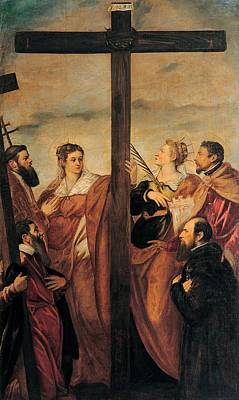 Saint Barbara Wall Art - Photograph - Robusti Jacopo Known As Tintoretto, The by Everett