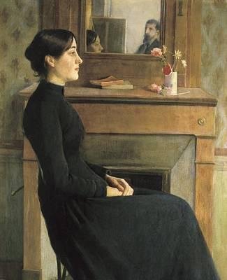 Rusi�ol I Prats, Santiago 1861-1931 Art Print