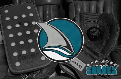 San Jose Sharks Photograph - San Jose Sharks by Joe Hamilton