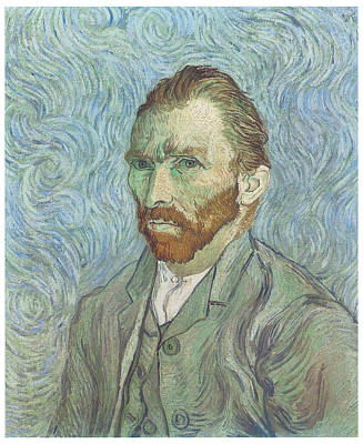 Self-portrait Art Print by Vincent Van Gogh