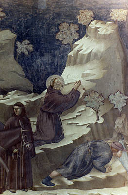 Bondone Painting - St Francis Of Assisi by Granger
