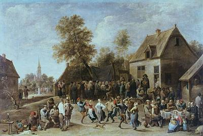 Teniers II, David, The Younger Art Print