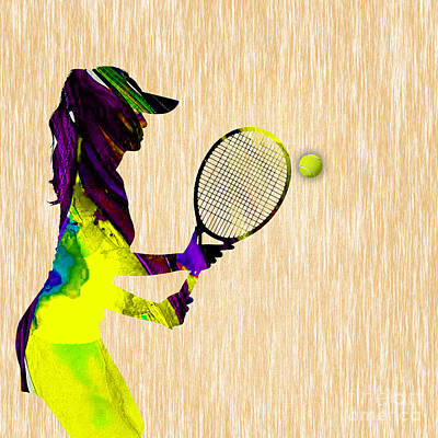 Tennis Mixed Media - Tennis by Marvin Blaine