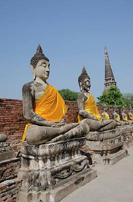 Ayutthaya Photograph - Thailand, Ayutthaya by Cindy Miller Hopkins