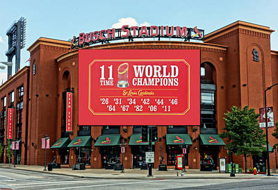 11 Time World Champion St Louis Cardnials Dsc01294 Art Print