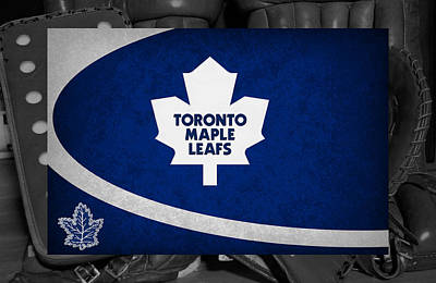 Toronto Maple Leafs Art Print by Joe Hamilton