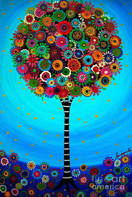 Tree Of Life Art Print by Pristine Cartera Turkus