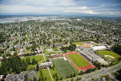 Self-knowledge Photograph - University Of Puget Sound U.p.s., Tacoma by Andrew Buchanan/SLP